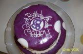 Cake van de kindverjaardag funky Polka-dot