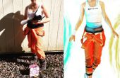 How to make een portal kostuum uit de Prullenbak en in een dag.
