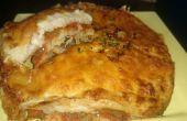 Huisgemaakt vegetarische lasagne recept in Philips Airfryer