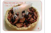 Pi dag vieren! Hoe maak je een kaars Pi