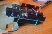 Arduino batterij rugzak