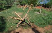 Gigantische bamboe K'nex