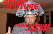 Back to the Future: Doc Brown's gedachten lezen helm