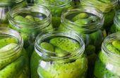 Warme en pittige Kosher Dills (geen azijn)