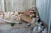 Waterval functie maken in uw achtertuin