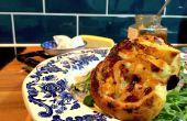 15 minuten geiten kaas en Chutney Tart | Koken met Benji
