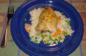 Italiaanse kip en rijst bak
