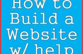 How to Build een Website