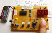 Microcontroller meet hartslag via vingertop