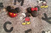 Mickey en Minnie Mouse oorbellen