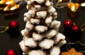 3D peperkoek Cookie kerstboom