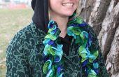 Ruffle sjaal gebreid