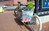 Single Wheeled fiets aanhangwagen