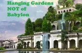 Hangende tuinen van Babylon niet