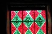 Faux gebrandschilderde ramen
