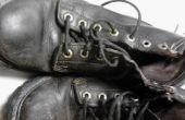 Oude laarzen een nieuwe look geven