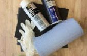 Prototyping tutorial polystereen - verf afwerking