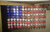 Fles Cap Amerikaanse vlag
