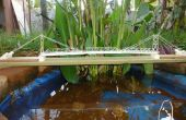 De brug over de rivier Phairuang: A Model gebouwd met papier