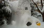 Hoe maak je de enorme 3 verdieping sneeuw fort.