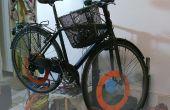 Nog een andere fiets repareren staan