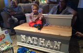 Mooie houten Toy Box