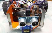 Remote Controlled obstakel vermijden Robot met PIC Microcontroller