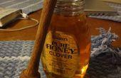 Honey Dipper op een hout-draaibank