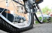 Tot vaststelling van een geperforeerde fiets band