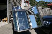 Zonne-Oven met Tracking...