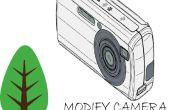 DIY infraroodcamera voor vegetatie analyse met Canon A2300