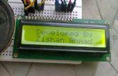 Home Security Alarm of een bewegingsmelder met behulp van Arduino,P.I.R Sensor en LCD-scherm.