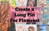 CreÃ˲r gemakkelijk lange pinnen voor Pinterest