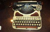 Herstel van een geval van de schrijfmachine 1926