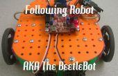 Lijn volgende SRK Robot met 3D-gedrukte onderdelen