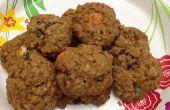 Smarties Oatmeal Cookies (overgebleven Halloween snoepjes)