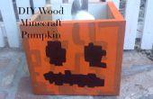 Hout Minecraft Jack O Lantern Candy Box decoratie