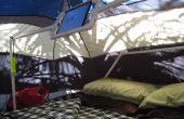 PVC iPad houder en mount voor tent camping