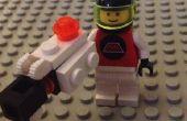 Minifiguren en middelgrote Lego Portal Gun