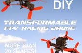 DIY modulaire & gassamenstelling FPV Quadcopter Racing!