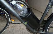 Een andere 0$ fiets fles houder, pijp gebaseerd