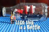 Hoe maak je een LEGO-schip In een fles