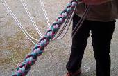 Gevlochten touw klimmen