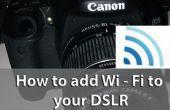 Gewoon toevoegen van Wi - Fi naar uw camera