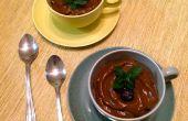 Romige Avocado chocolade Pudding