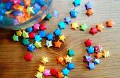 Origami wensen sterren (aka. Lucky Stars)