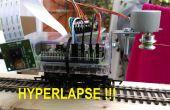 Raspberry Pi verplaatsen timelapse