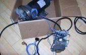 Een loopband DC Drive Motor en snelheidsregelaar PWM gebruiken voor het voeden van de hulpprogramma's