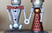 Robot taart Topper