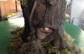 Illuminating Ghost Low-Cost Recycling masker bos maken Tutorial